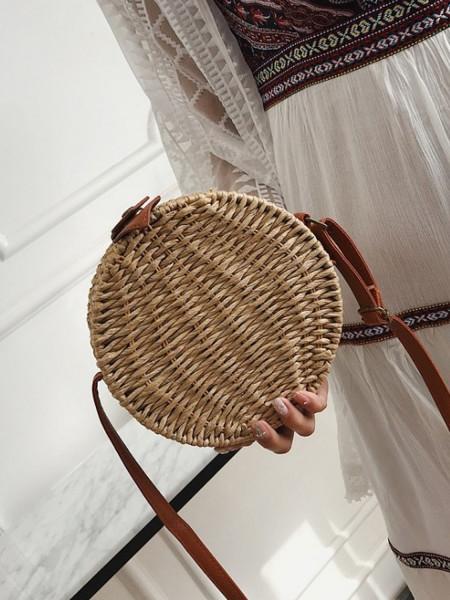 Okrągła torebka damska