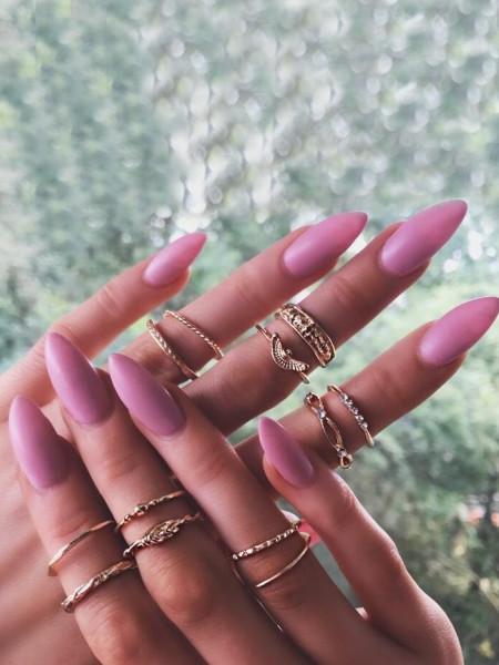 Zestaw 12 pierścionków złote