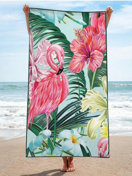 Ręcznik plażowy prostokątny Flaming