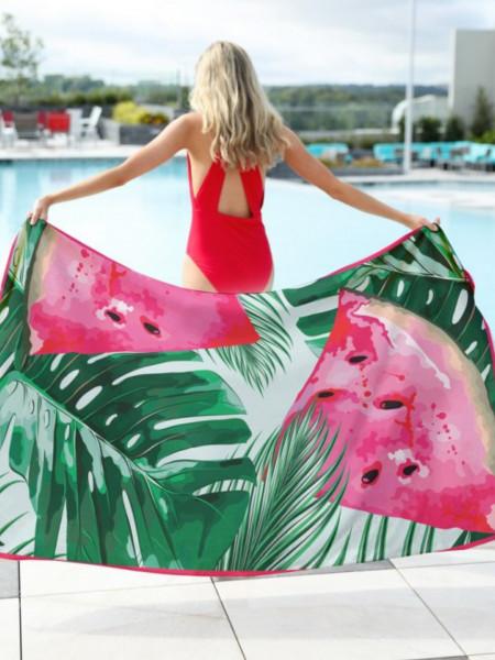 Ręcznik plażowy prostokątny arbuzy