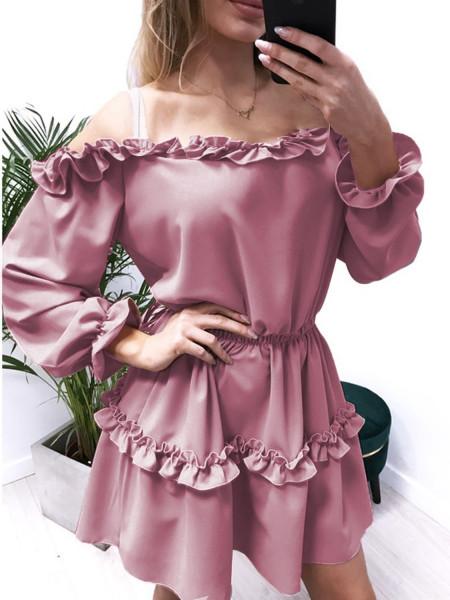 Kobieca mini sukienka z...