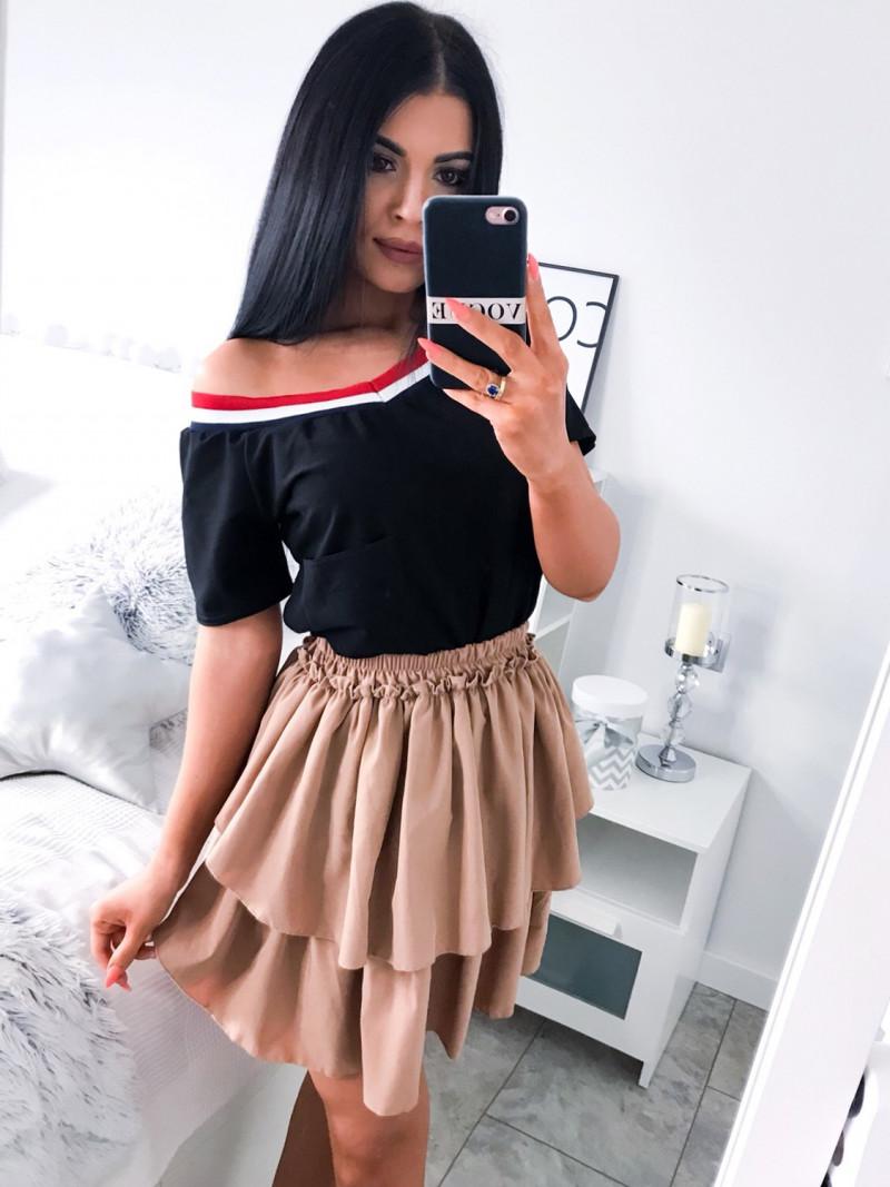Modna bluzka z lampasem NEL